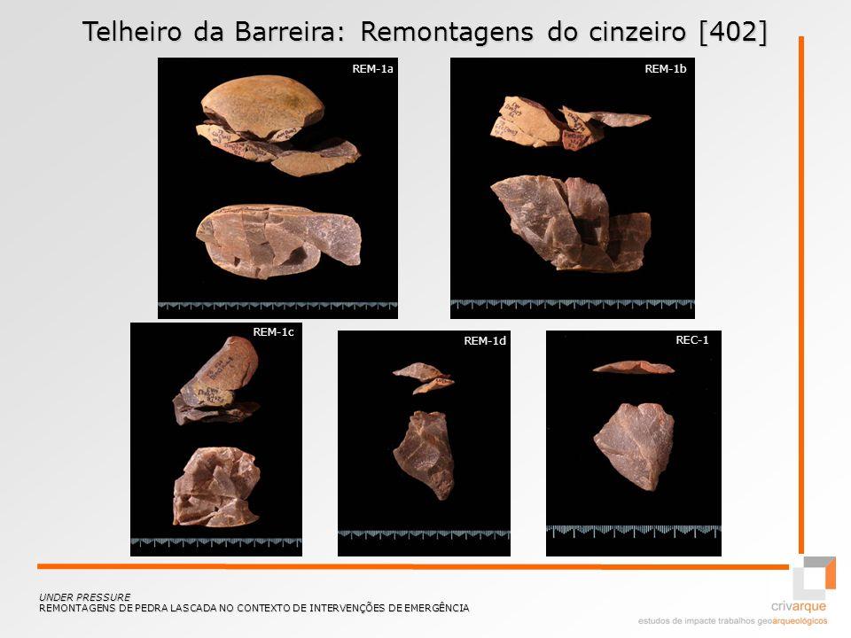 Telheiro da Barreira: Remontagens do cinzeiro [402]